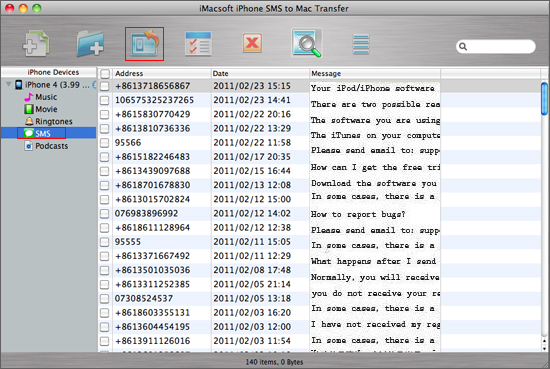 how to get text messages on mac