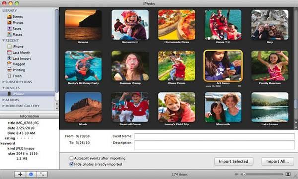 Comment Faire Pour Transférer Des Photos Iphone Sur Un Mac Os