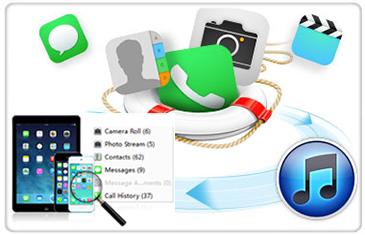 récupérer des données supprimées d'un iPhone/iPad
